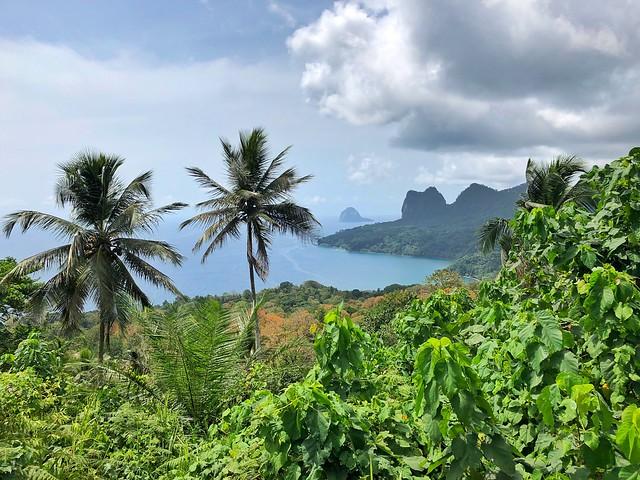 Mirador de Nouva Estrella en la isla de Príncipe (Santo Tomé y Príncipe)