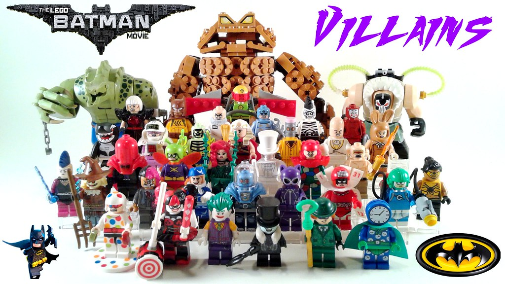 Lego Batman Movie Villains! | These are all of the LBM ...
