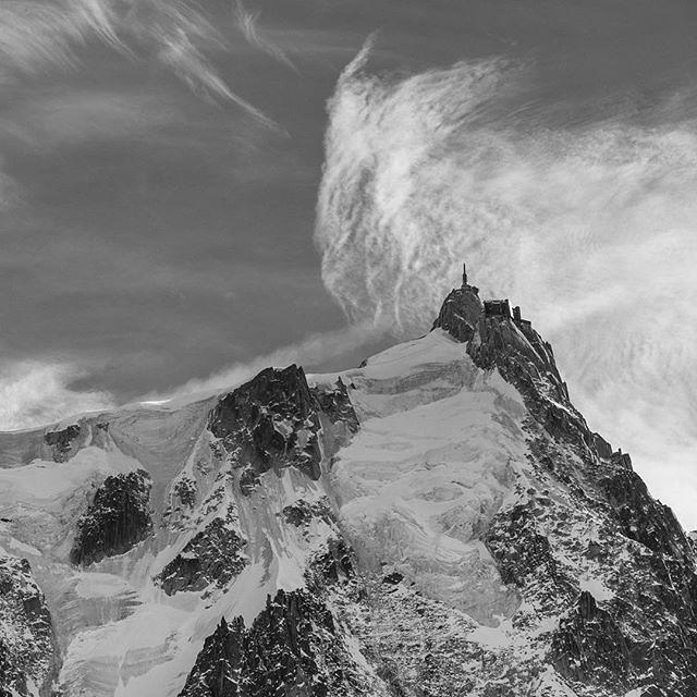 Classical but mystical  Aiguille du midi - Chamonix    @la