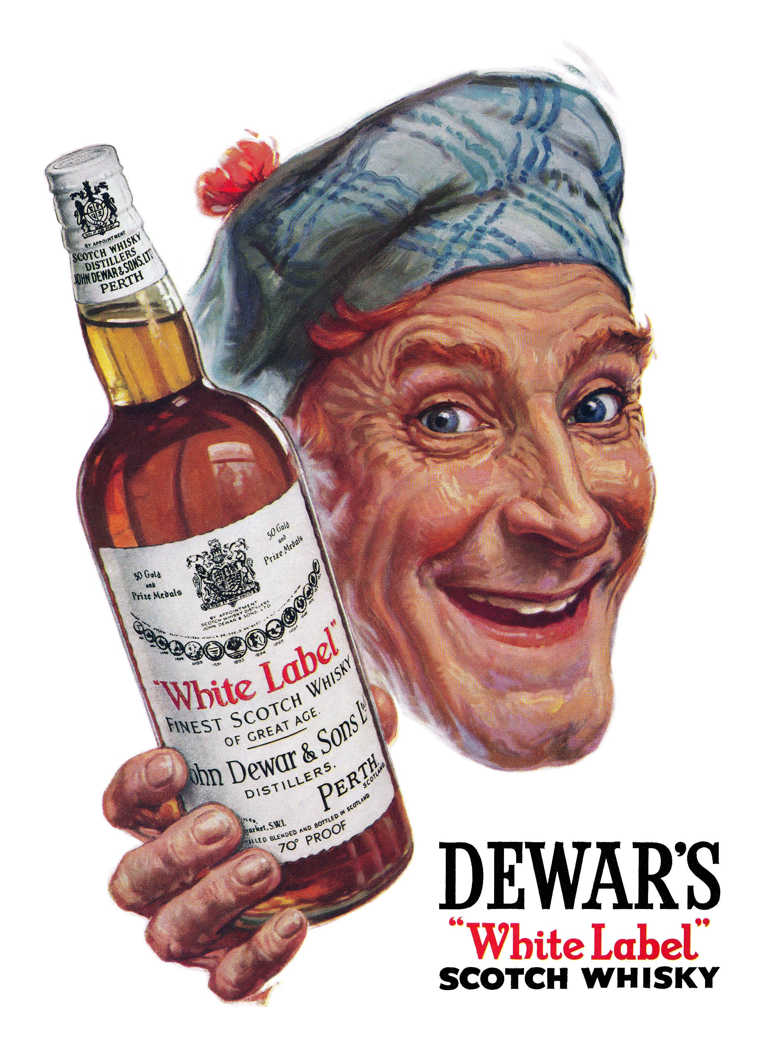 Dewar's 'White Label' Scotch Whisky - 1951
