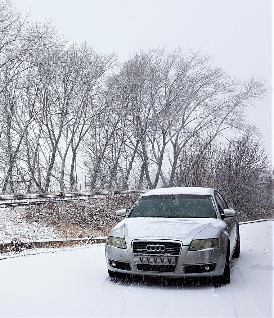 Snow Mobile Audi A6 Tyne Yard Mark Gillingham Flickr