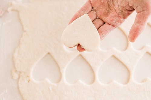 heart shaped vegan sugar cookies | by Get Kamfortable