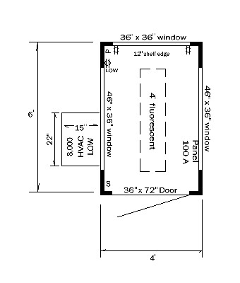Guard house layout plan if you have a custom guard house for Guard house design layout