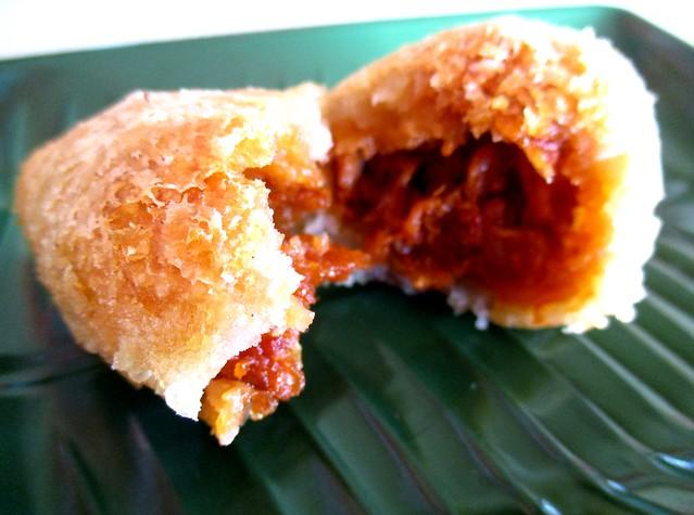 Ah Kiet Restaurant yam puff