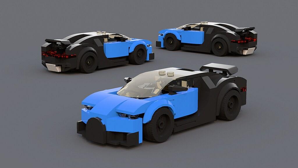 Bugatti chiron spoiler