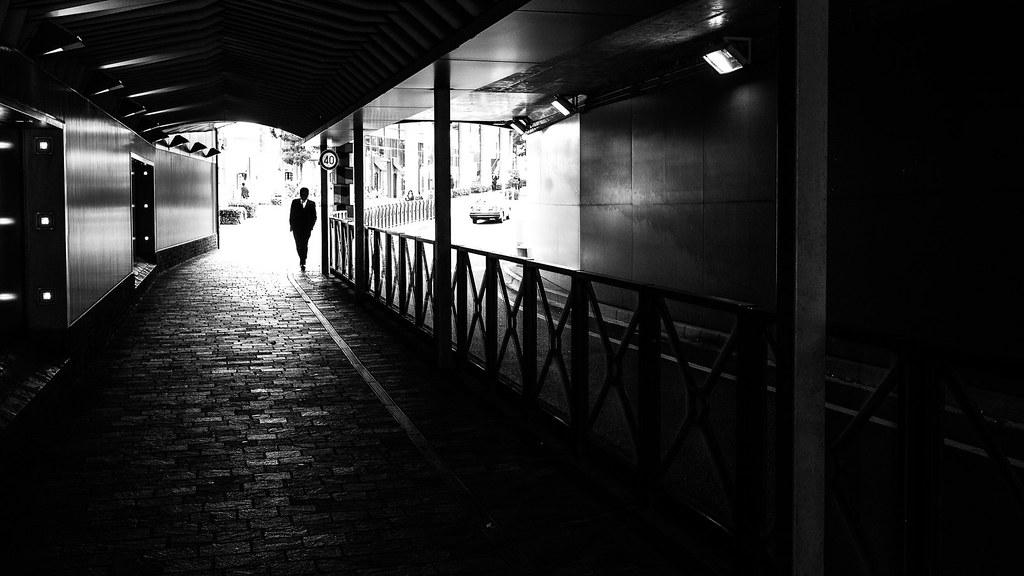 White collar tokyo japan black and white street photography by giuseppe milo