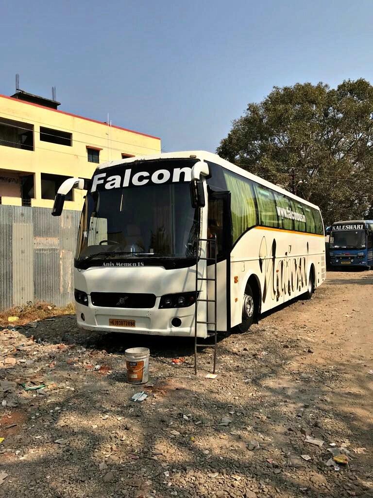 National Travels Falcon Volvo B7r Sleeper Bus Flickr