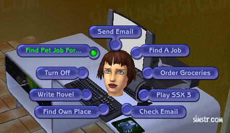 The Sims 2 Pets Find Pet Job For...