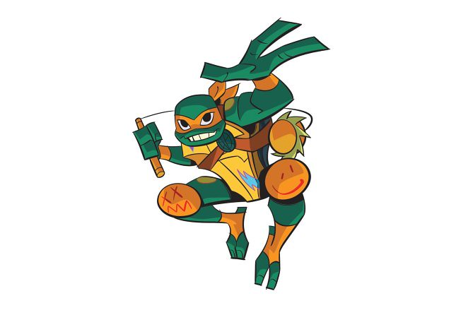 Rise Of The Tmnt Michelangelo 2018 Courtesy Flickr