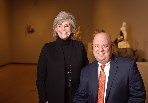 Beth Thorne Stukes and Paul Jacobson | by Auburn University