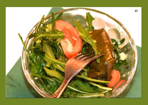 Rucola-Salat ... Foto: Brigitte Stolle