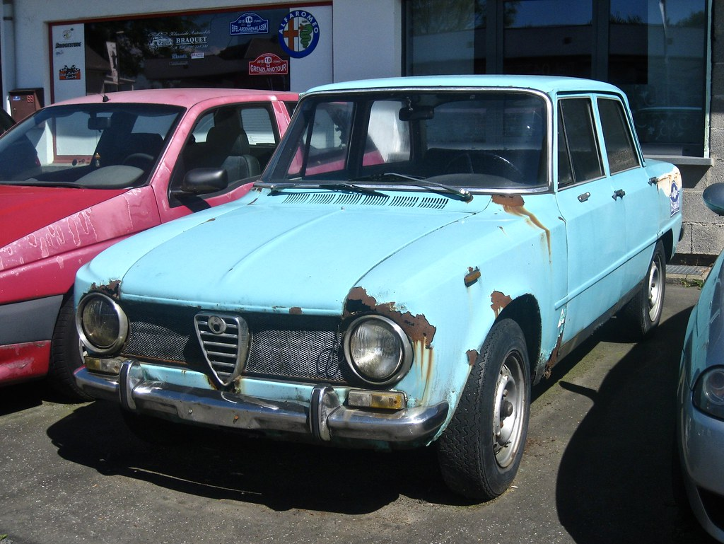 ALFA ROMEO Giulia TI Berlina Two Years Afte Flickr - Alfa romeo giulia 1972
