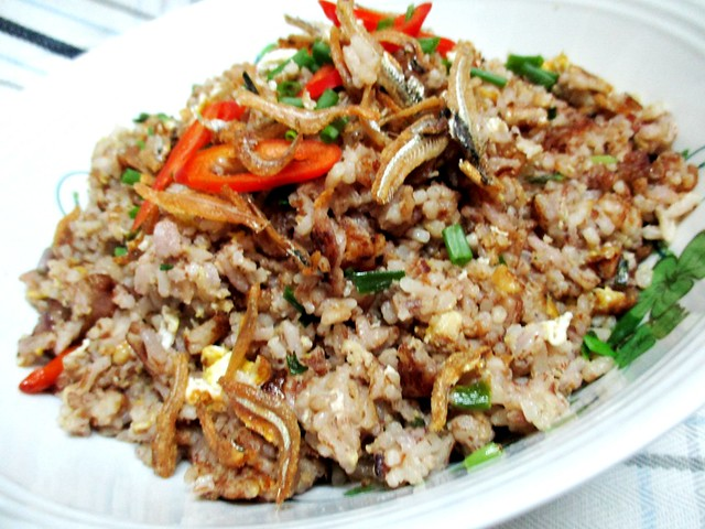 My dabai fried rice