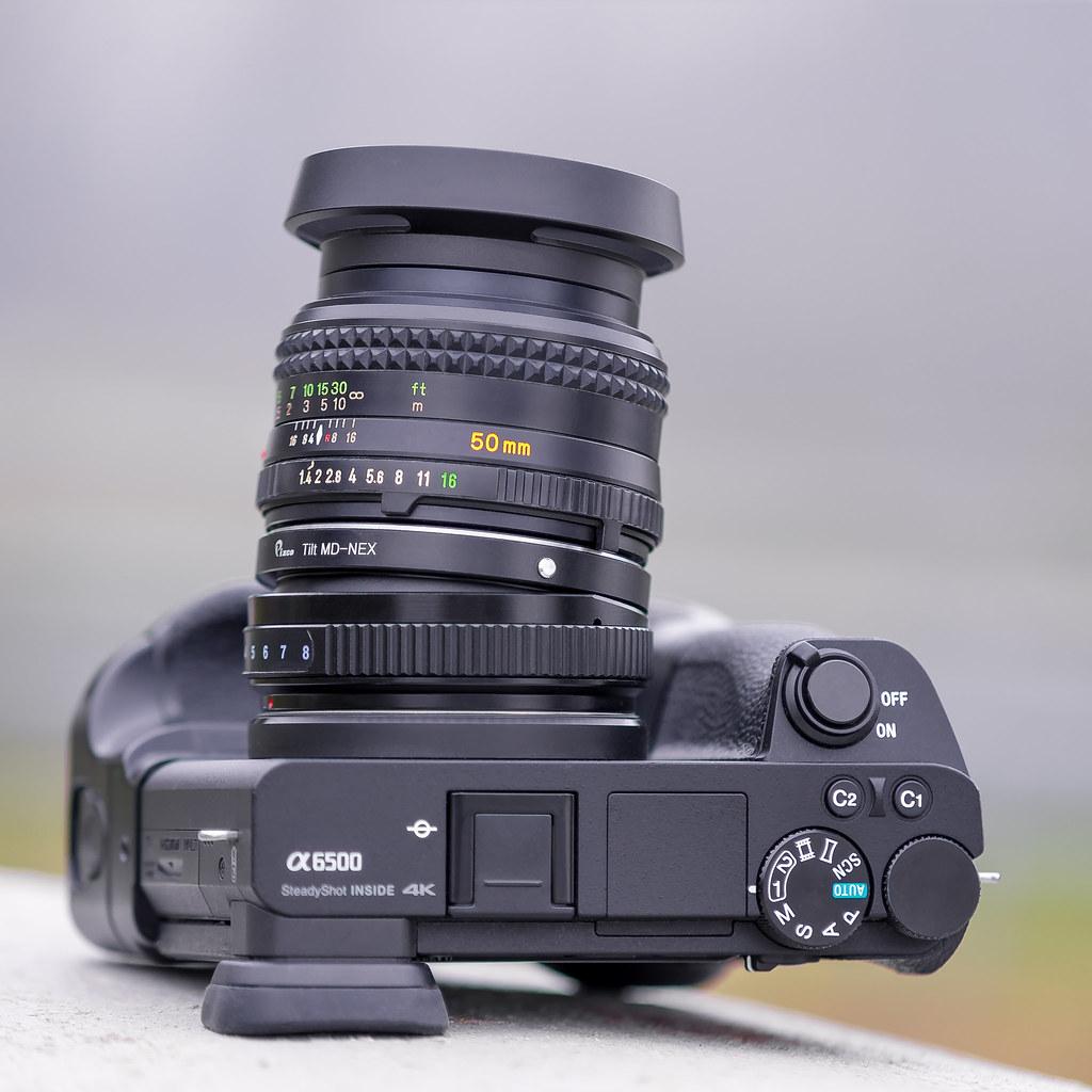 Minolta Md Rokkor 50mm 14 With Tilt Adapter Seen By Min Flickr Sony Alpha La Ea3 Mount Af 70