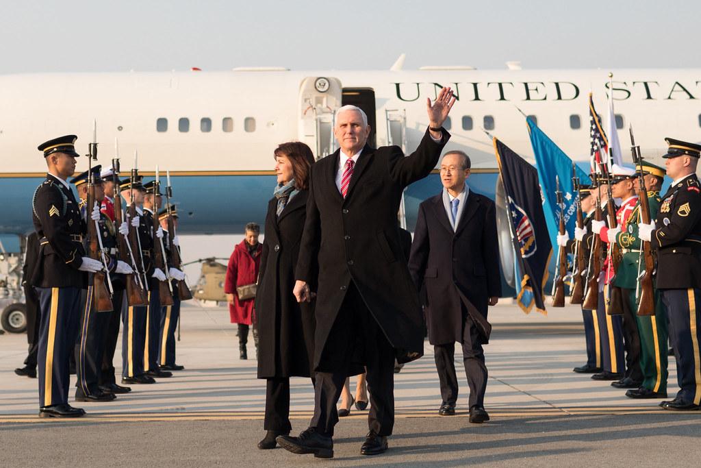 Hasil gambar untuk Vice President Pence's trip to Asia