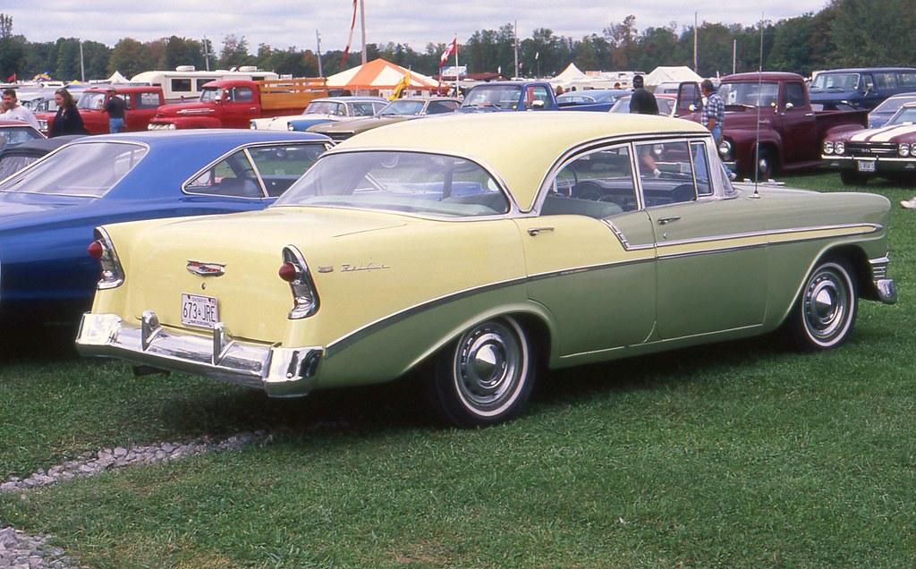1956 Chevrolet Bel Air 4 Door Hardtop Richard Spiegelman Flickr