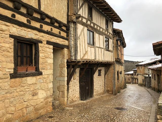 Casas típicas de Calatañazor (Soria)
