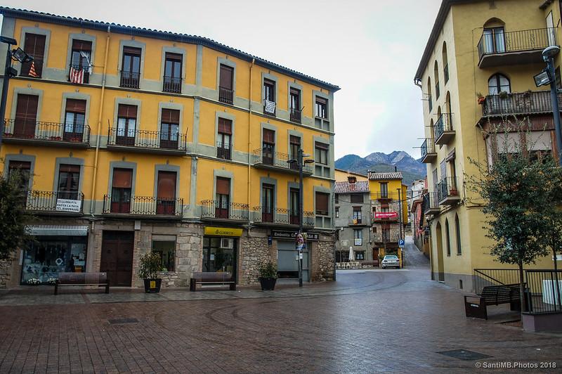 Plaça de Catalunya de Bagà