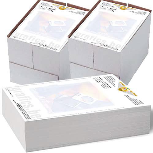 Brief- en facturatiepapier van drukkerij Grafic's