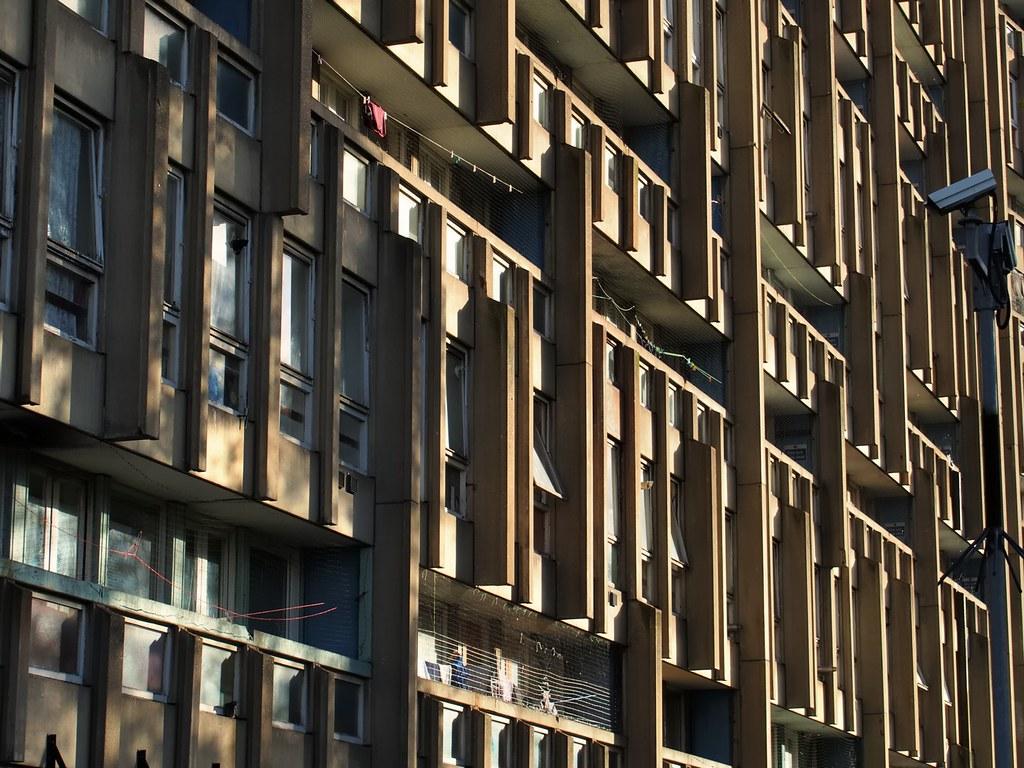Brutalist architecture up close - Robin Hood Gardens east … | Flickr