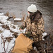 Mark Wearing Camouflage during Upland Bird Hunt
