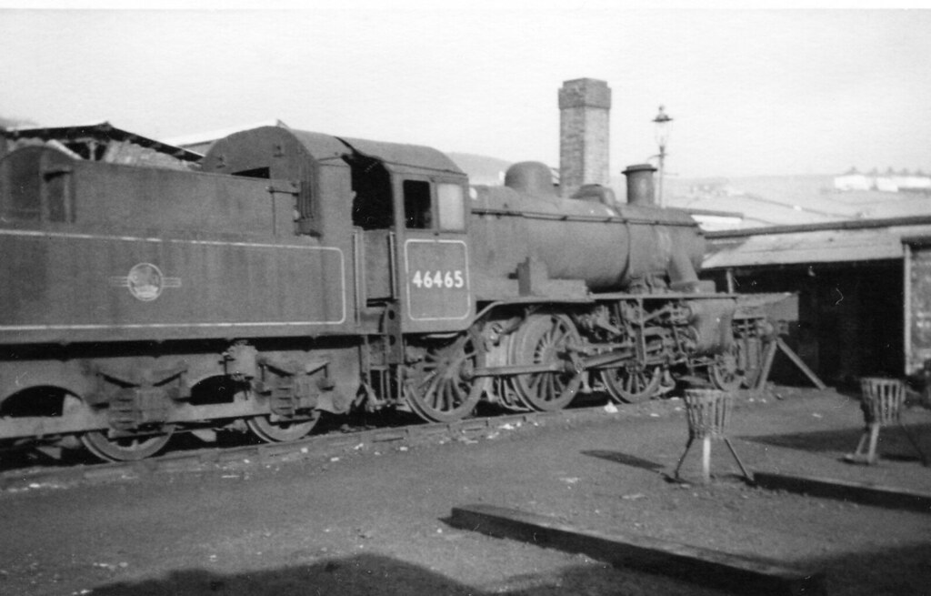 A Jim Freebury Railway Archive picture 46465 at Buxton 26.02.1967. AE 4. A  Jim Freebury Railway Archive picture