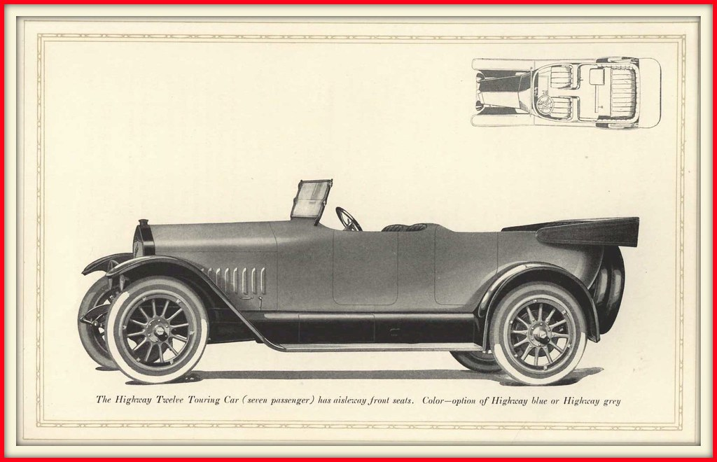 1919 The National Highway Twelve Cylinder Cars, - America\'… | Flickr