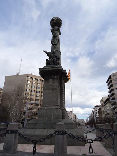 Monumento al Justicia de Aragón