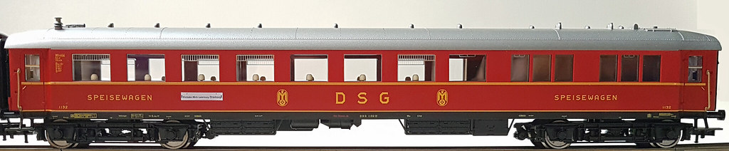 Fleischmann WR4ü-35 Gangseite 5633K DSG IIIa