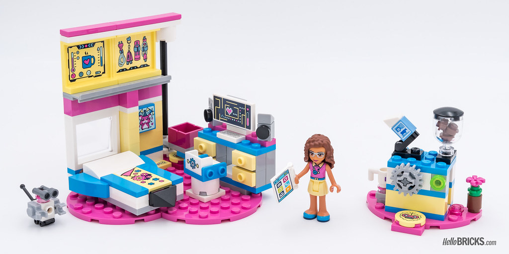 REVIEW LEGO Friends 2018 - LEGO 41329 Olivia's deluxe Bedr… | Flickr