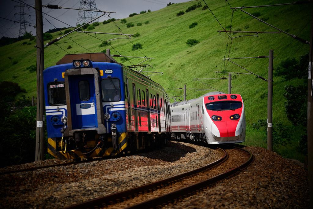 軌道列車透過技術可以讓能源使用更有效率。圖片來源:低碳生活部落格。