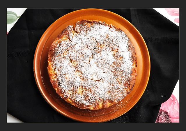 Apfelkuchen nach Großmutterart - Torta di mele della nonne - Karla Kunstwadl backt - Fotos: Brigitte Stolle, März 2018