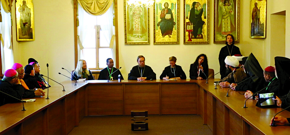 Meeting at the Russian Orthodox Patriarchate