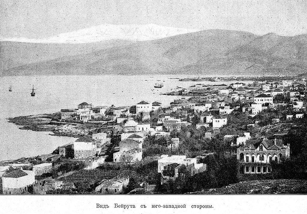 Изображение 6: Вид Бейрута с юго-западной стороны.