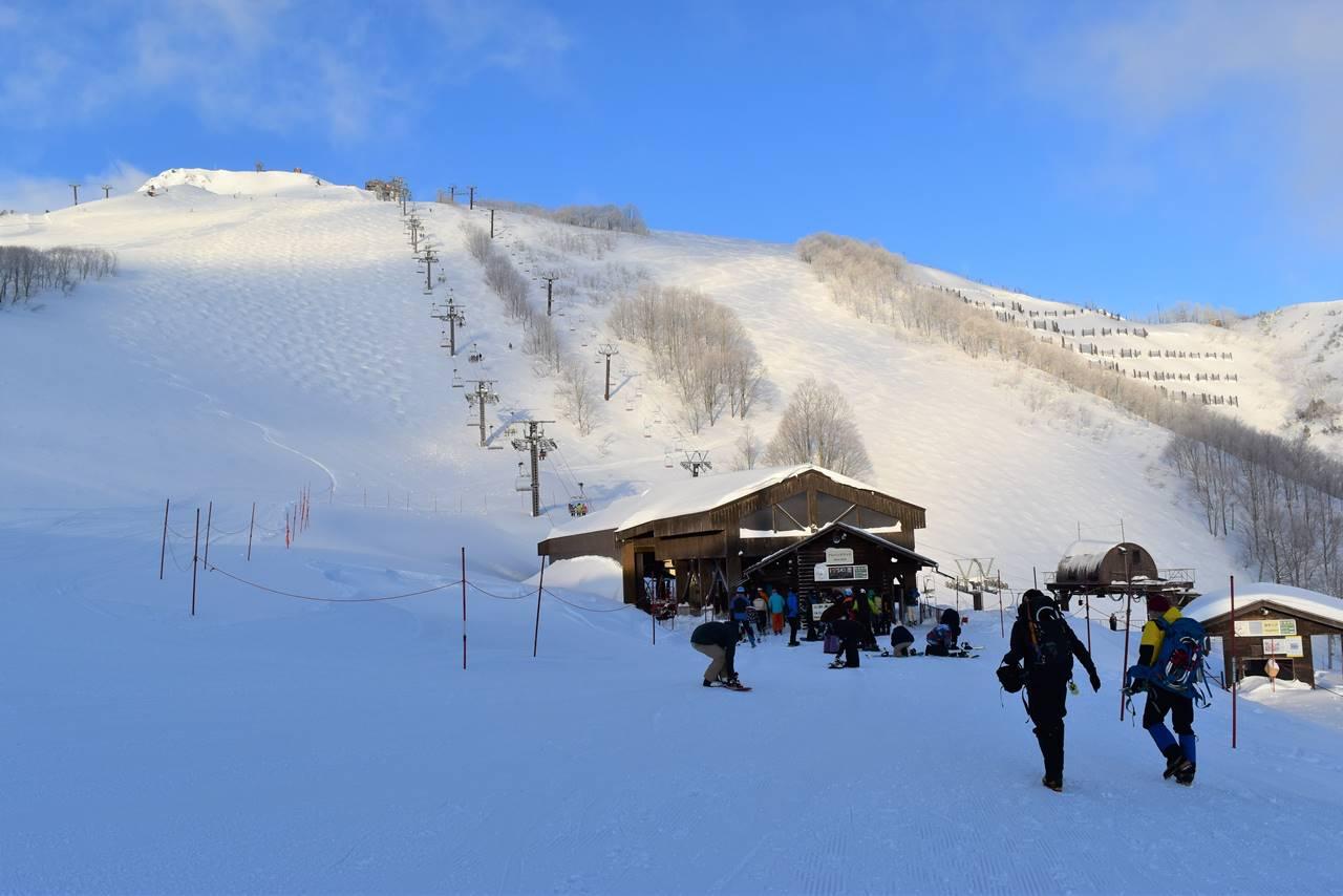 白馬八方スキー場 リフト