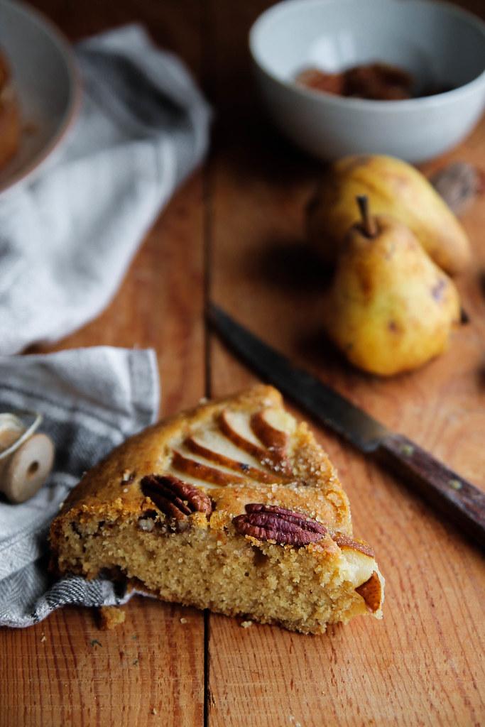 Gâteau aux poires recette