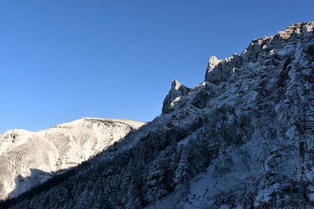 冬の横岳~硫黄岳