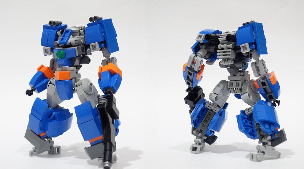 blue buster r 01 | Blue Buster R Frame - EO Frame Build Vide… | Flickr
