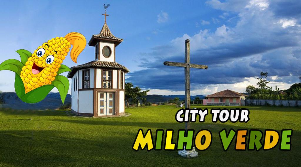 CITY TOUR = MILHO VERDE/MG