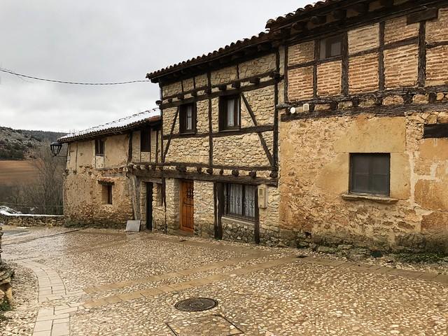 Arquitectura típica de Calatañazor (Soria)