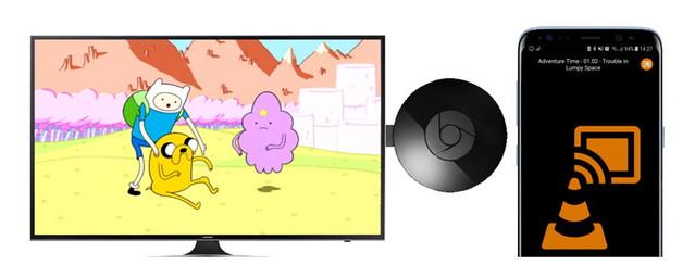VLC-Chromecast