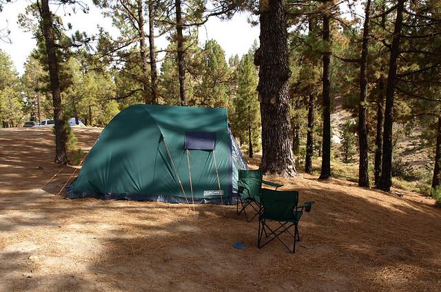 Camping, Vilaflor, Tenerife