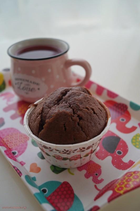 kakaolu tarçınlı muffin