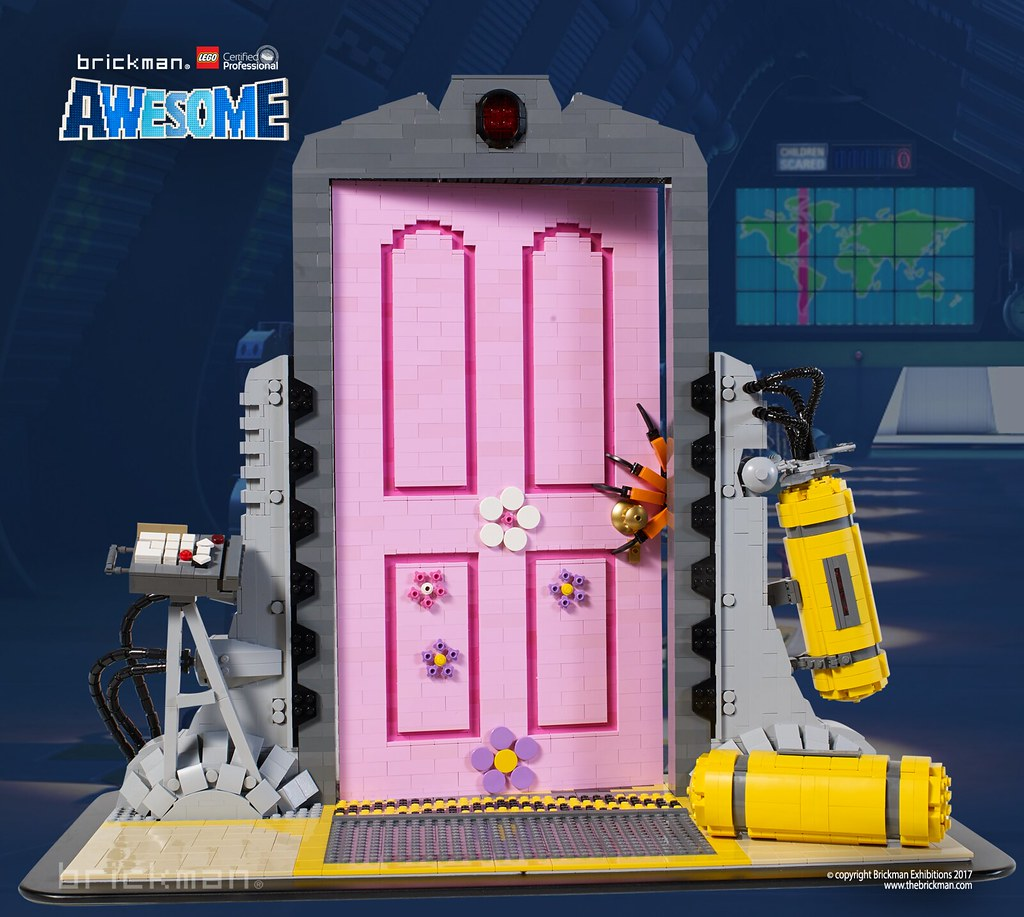 LEGO® Brick Scare Door From Monsters Inc