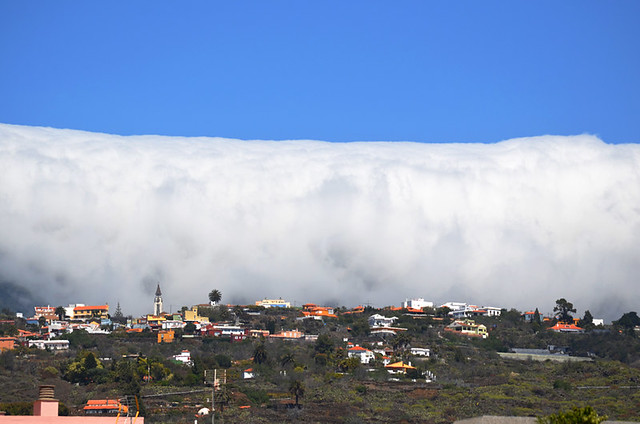 Cloud tsunami, La Palma