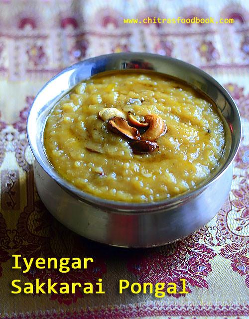 Iyengar sakkarai pongal