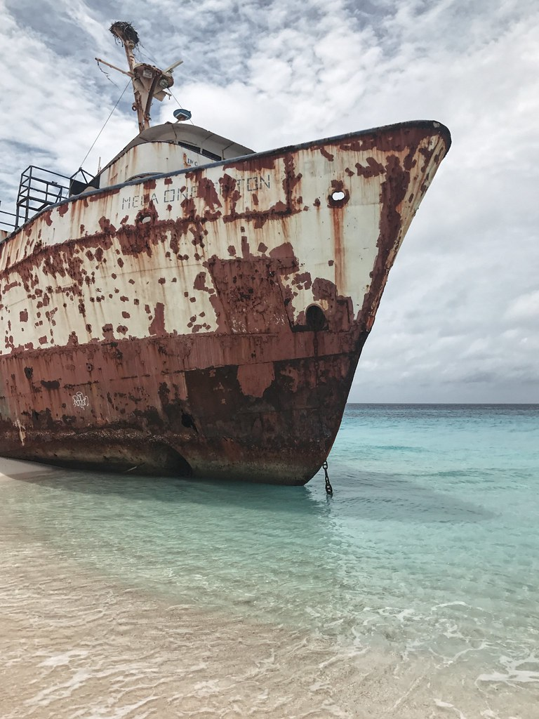 Grand Turk Governor's Beach shipwreck