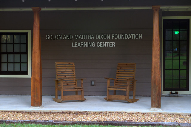 The front of the Solon and Martha Dixon Foundation Learning Center.