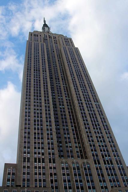 Empire State Building från min takbar.