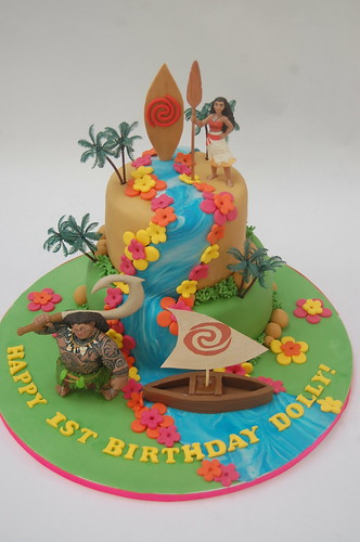 Moana Birthday Cakes Uk